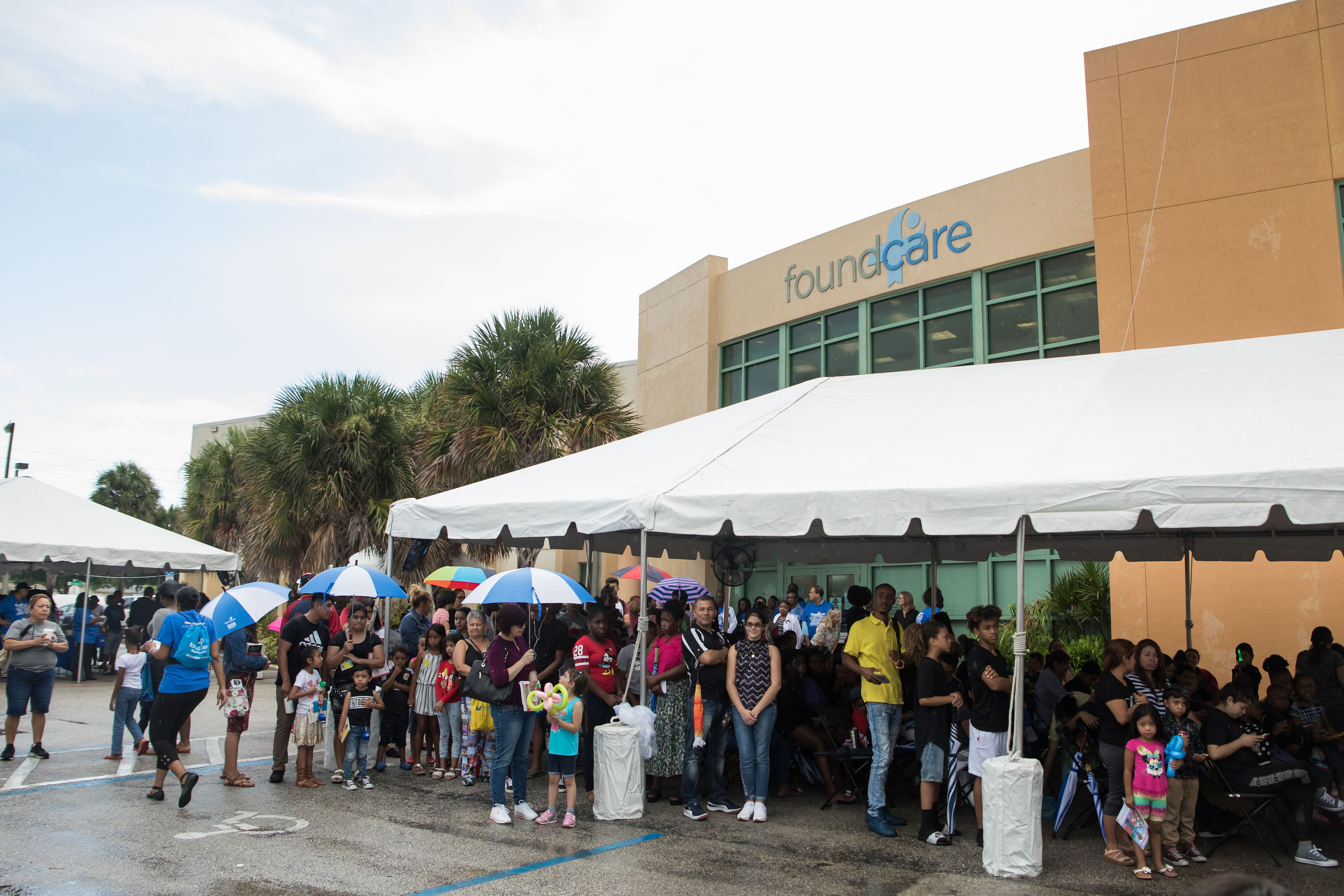 FoundCare's Back-to-School Health Fair Brought Sunshine on a Rainy Day