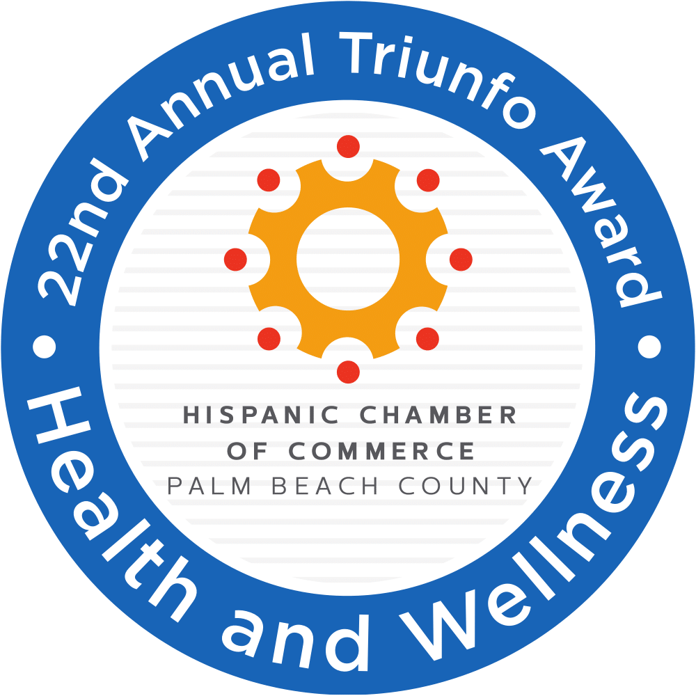 FoundCare receives Health and Wellness Award from the Hispanic Chamber of Commerce of Palm Beach County