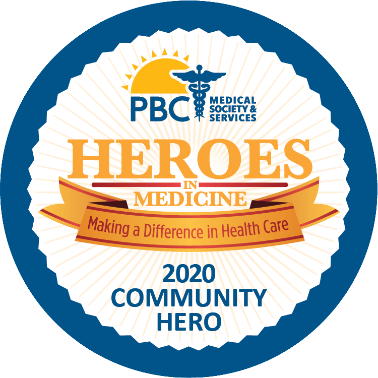 Community Hero Award Decal 1