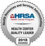 HRSA - Health Center Quality Leader 2018